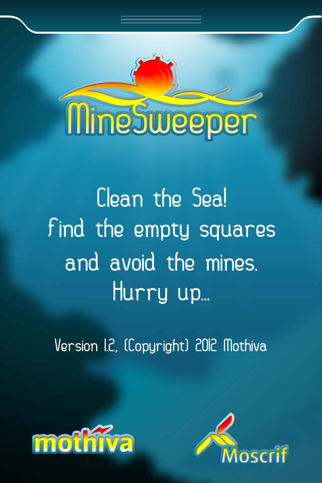 Screenshot Minesweeper in Moscrif