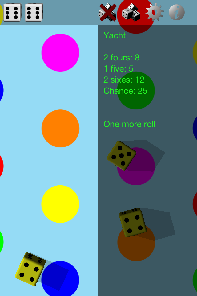 Screenshot Dice Roller 3D
